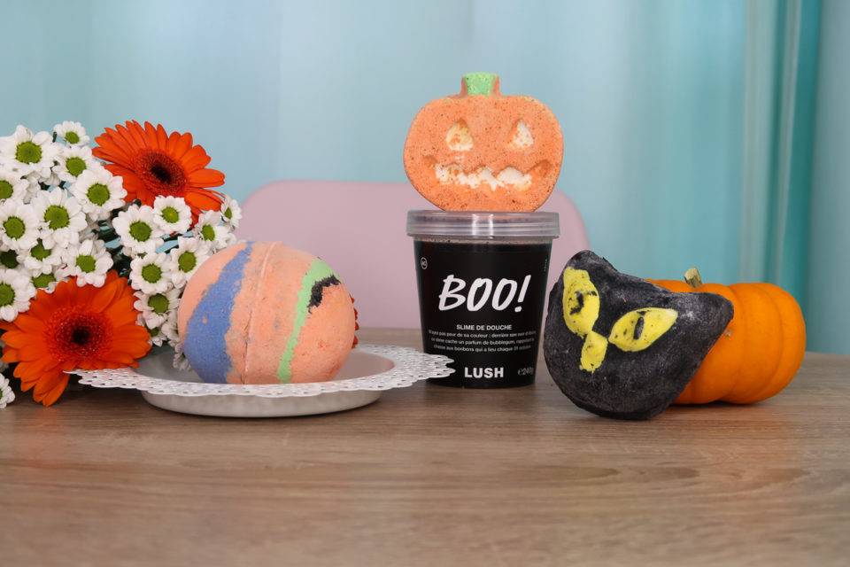 Collection LUSH Halloween 2019.