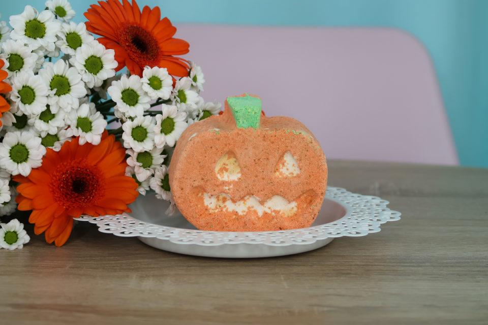 Punkin Pumpkin - Bombe de Bain, LUSH.
