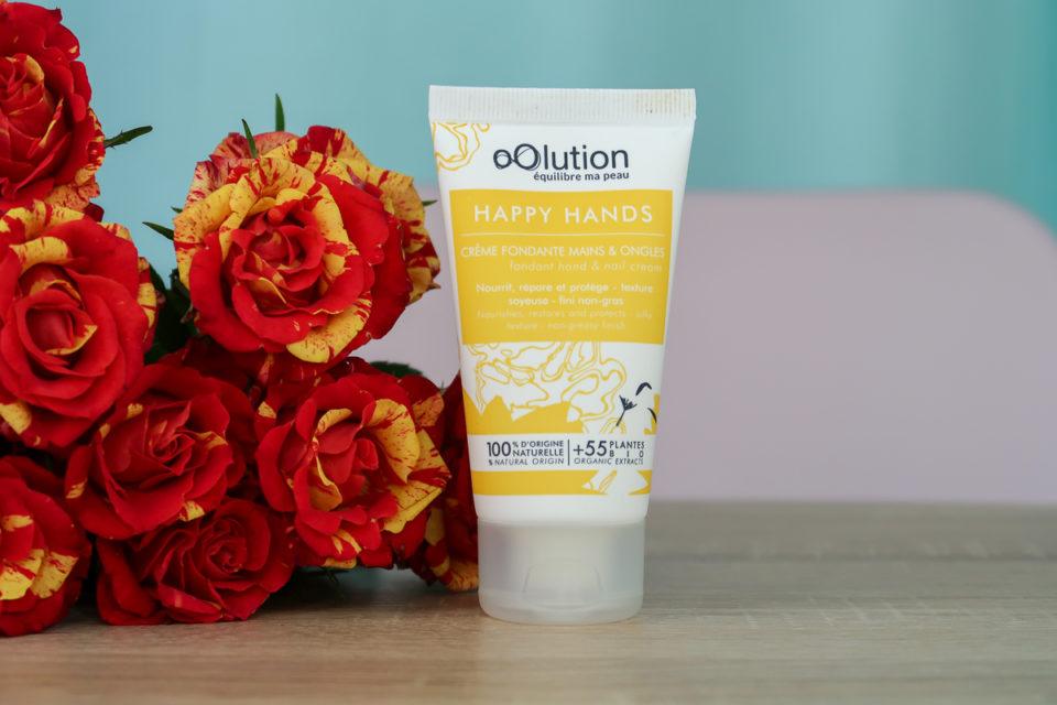 HAPPY HANDS - Crème Fondante Mains et Ongles, oOlution.