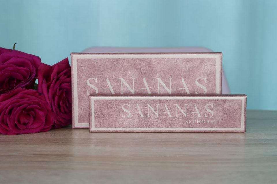 Palettes de fards à paupières SANANAS x SEPHORA COLLECTION.