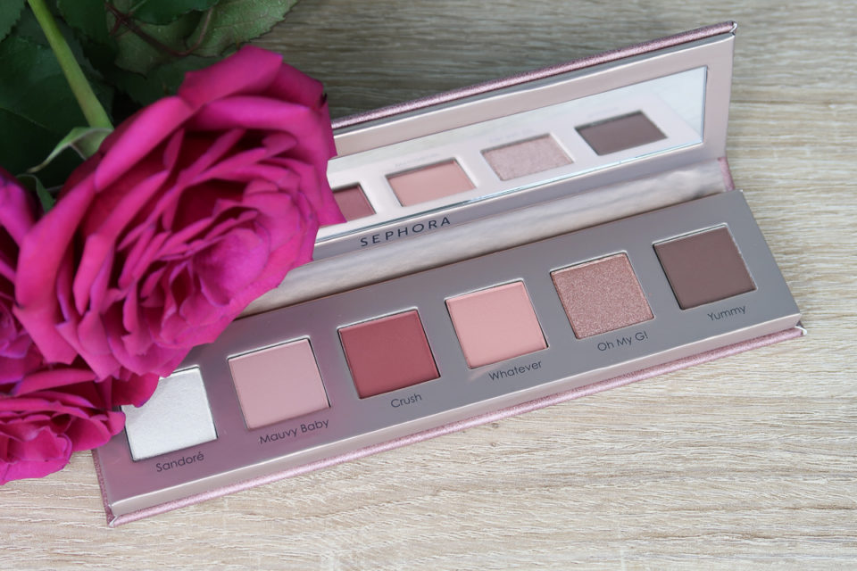 Palette Yeux de 6 Fards à Paupières, SANANAS x SEPHORA COLLECTION.