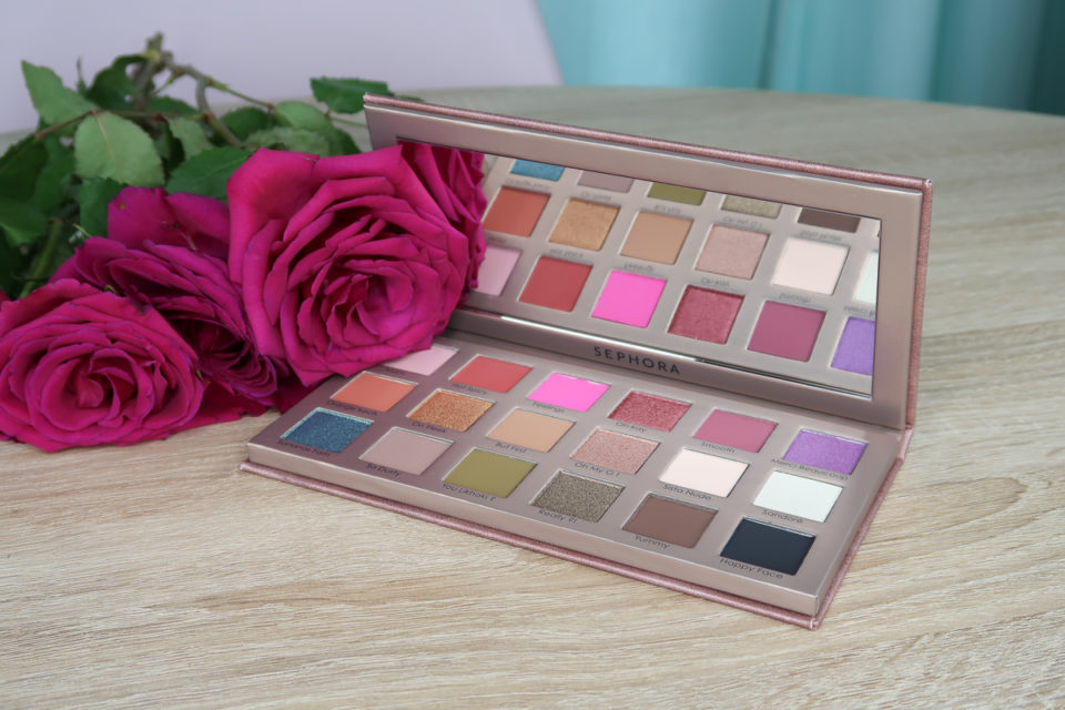 Palette Yeux de 18 Fards à Paupières, SANANAS x SEPHORA COLLECTION.