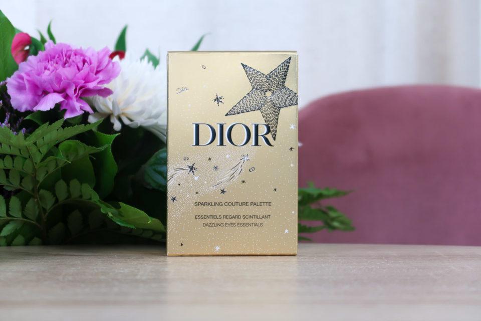 Packaging de la Sparkling Couture Palette, DIOR.